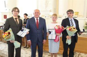 Сотрудники ГУАП удостоены премии Правительства Санкт-Петербурга
