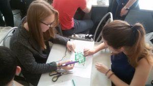 Выездной мастер-класс ГУАП по 3D печати и моделированию с использованием аддитивных технологий в Брюсовской гимназии