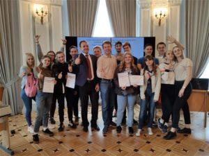 Первая городская студенческая олимпиада по моделированию и ситуационному управлению качеством сложных технических систем