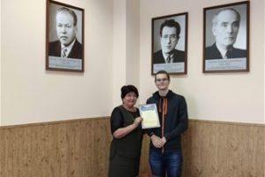 Поздравляем Босенко Михаила Романовича, студента гр. М821