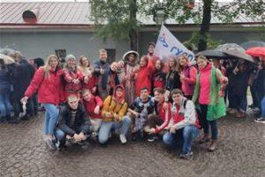Студенты института ФПТИ приняли активное участие в Параде российского студенчества
